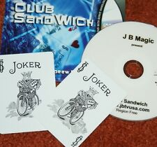 Club Sandwich (with DVD) -- JB Magic -- innovative sandwich routine       TMGS