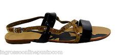 scarpe donna sanali estivi alla schiava gladiatore basse numero 40 F 718
