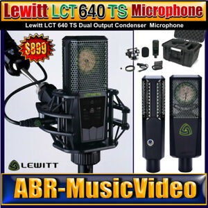 LEWITT LCT 640 TS Microphone/ 2 Year Manufacture Warranty