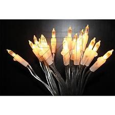 LED Mini Lichterkette transparent 10 20 35 50 100 Lichter klassikweiß für innen
