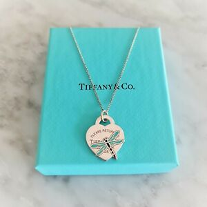 Tiffany & Co BRAND NEW IN BOX, New York Limited Edition Release Heart Necklace