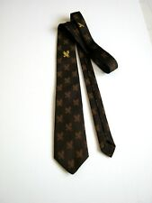 TIE LONDON VINTAGE NUOVA NEW POLIESTERE ORIGINALE MADE IN ENGLAND