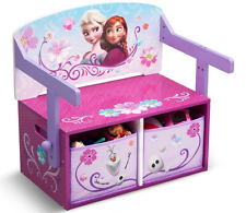 Delta Children Disney Frozen Convertible Bench Desk, Kid Bench & Study Desk