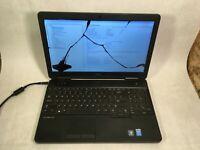 """Dell Latitude E5540 15.6"""" Laptop Intel Core i3-4010U 1.7GHz -CRACKED -RR"""