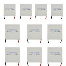 10X TEC1-12706 12V Heatsink Thermoelectric Cooler Cooling Peltier Plate Module H