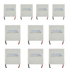10Pcs TEC1-12706 Cooling Peltier Plate Thermoelectric Cooler Heat Sink ModuleUS.