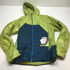 Dynafit Radical 3 Primaloft Hooded insulated Softshell jacket mens Medium moss