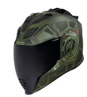 *FREE SHIPPING* ICON  Airflite™ Helmet - Blockchain - Green