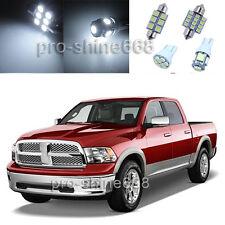 14PCS White Light Interior LED Package Kit For Dodge Ram 1500 2500 3500 02-11