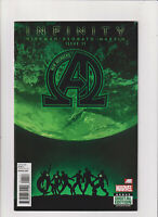 New Avengers #11 FN/VF 7.0 Marvel Comics 2013 The Black Order Thanos