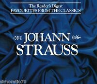 JOHANN STRAUSS Favourites From The Classics 3 CD set - Reader's Digest
