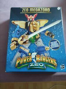 Power rangers zeo megazord lightning collection hasbro