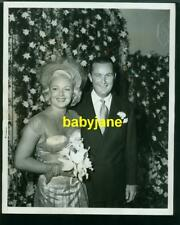 LANA TURNER BOB TOPPING VINTAGE 8X110 PHOTO BY DALLINGER CANDID 1948 WEDDING DAY