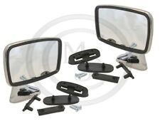 BEK345 - PAIR TEX STYLE CLASSIC CAR DOOR MIRRORS MG TRIUMPH FORD AUSTIN MINI ETC
