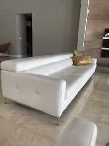 sofa set living room italian leather