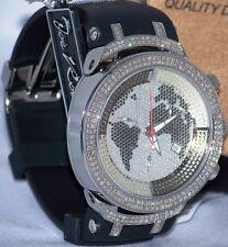 New Authentic Mens JOJO Joe Rodeo master jjm8  2.20ct.apx.242pcs.Diamonds watch.