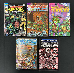 Teenage Mutant Ninja Turtles Comic Lot TMNT 1st Issues Eastman & Lairds Nice!