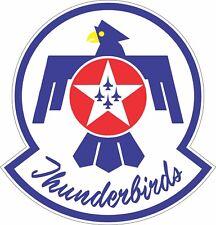 Thunderbirds Logo Air Force USAF Military Bumper Sticker Vinyl Decal