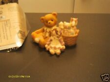 Cherished Teddies _ Randy w/ doll - You're never alone with good friends around