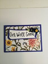 Handmade Greeting Card Get Well Soon PLUS QUILLING  Seller 100%  positive