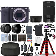 Sony Alpha a6600 беззеркальная камера + 16-50 мм + 55-210 мм 32 ГБ с объектив комплект