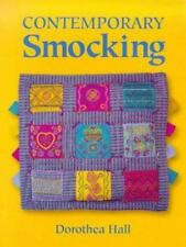 CONTEMPORARY SMOCKING book by Dorothea Hall paperback instructions. techniques