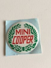 4* badge logo 47mm centre de jante Austin Mini Rover Cooper wheel new cap trim