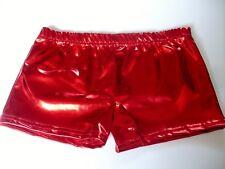 New Children Kids Metallic Hot Shiny Party Disco Pants Wet Look Shorts