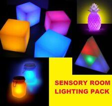 Sensory Room Lighting Pack (Pack of 4), Sensory Dementia Activity Product