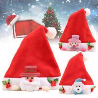 Eg _ Scatola Natale Pupazzo di Neve Alce Babbo Orso Cappello Bambini Decorazioni