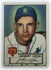 1952 Topps Baseball Card • Johnny Lipon • #89