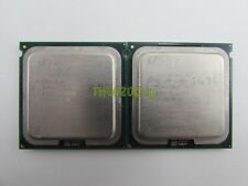 Lot of 2 Intel Xeon L5320 1.86GHz Quad Core SLA4Q Socket LGA 771 CPU Processor