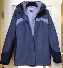 Columbia Interchange Core 3-in-1 Jacket Coat w/ Fleece Zip-Out Liner Women Small