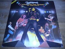 "WHITESNAKE ""LIVE..IN THE HEART OF THE CITY"" 1980 2 X VINYL LP SACEM FRENCH PRESS"