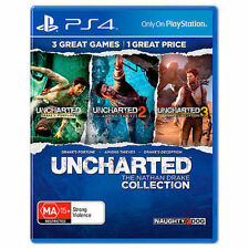 """Uncharted The Nathan Drake Collection PS4 Games Sony Playstation 4 New """"on sale"""""""
