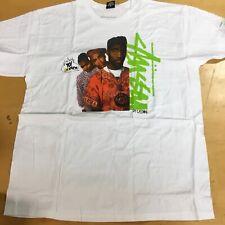 """Stussy Yo MTV Rap """"De La Soul"""" Collab T Shirt, XLarge"""