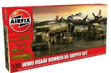 New Airfix 1:72nd Scale WWII USAAF Bomber Re-Supply Set Model.