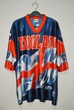 Rare Vintage Nutmeg Mill England Euro 96 Sublimated Football Shirt XL
