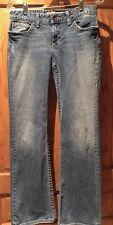 BKE Buckle KATE 28 X 31 1/2 Stretch Denim Blue Jeans Women's. Medium Wash