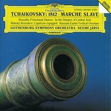 Tchaikovsky - 1812/Etc/Jarvi Gh (NEW CD )