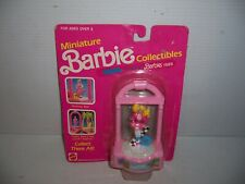 1989 Mattel Miniature Barbie Collectibles Cool Times Barbie # 7478 NEW