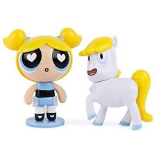The Power Puff Girls 2 Figure Pack Bubbles and Donny The Unicorn New In Box
