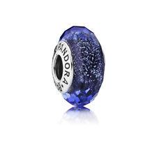"Pandora Charm 791646 ""Schillernd blaue Facetten"""