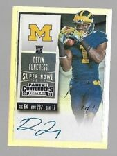 2015 Contenders Super Bowl College Variation Devin Funchess Auto Rc True 1/1