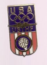1996 USA Team Handball Olympic Pin Atlanta USTHF