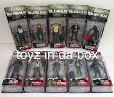 AMC The Walking Dead Series 4 and 5 Complete SETS: Maggie, Andrea, Glenn, Merle