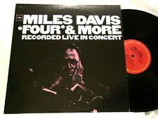 MILES DAVIS Four & More Live Herbie Hancock Tony Williams LP