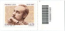 2012 francobollo Primo Levi DX BARRE 1503