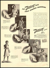 1940s vintage ad for Vitality Shoes -678