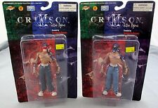 Humberto Ramos Crimson Set Of 2 Action Figures Red Joe & Blue Joe 1999